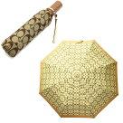 コーチCOACH傘折りたたみ傘かさカサ雨傘おりたたみブラウンレディース63364