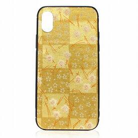 iphone x xs ケース iPhone ケース アイフォンケース 美濃和紙 日本製 金箔格子 ゴールド 和柄 スマホケース luminio ルミニーオ tmp-1606go お祝い 2019 秋冬 新作