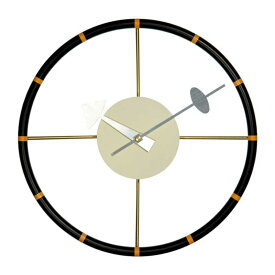 壁掛け時計 ウォールクロック ネルソン ステアリングホイール クロック ジョージ・ネルソン デザイナーズ リプロダクト ミッドセンチュリー
