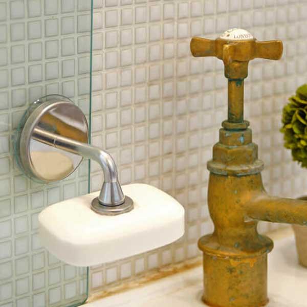 ダルトン マグネティック ソープホルダー MAGNETIC SOAP HOLDER CH12-H463 マグネット式ステンレス石鹸ホルダー