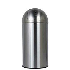 ダストボックス ゴミ箱 フタ付 プッシュトップ ダルトン ダストビン 30L サテンフィニッシュ ステンレス製 インナーバケツ付
