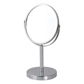 卓上ミラー 鏡 ダルトン ラウンド スタンドミラー G755-903 丸型 拡大鏡 シンプル スタイリッシュ