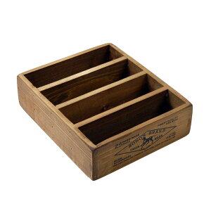 【ポイント5倍】ハガキ・カード整理 木製収納ボックス ダルトン ポストカード用ウッドボックス Wooden box for postcards アンティークフィニッシュ