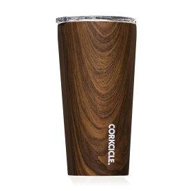 保冷 保温 カップ サーモマグ ステンレスタンブラー コークシクル タンブラー 16oz 470ml 木目調 ウォールナットデザイン