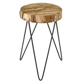 サイドテーブル フラワースタンド 花台 木製 SPICE OF LIFE FESTA HOME パーケットスタンド Lサイズ 円形
