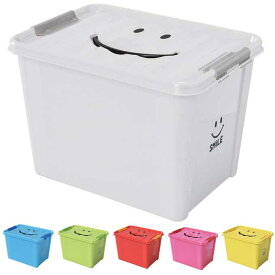 収納ケース 収納ボックス おもちゃ箱 スパイス スマイルボックス Lサイズ SFPT1530