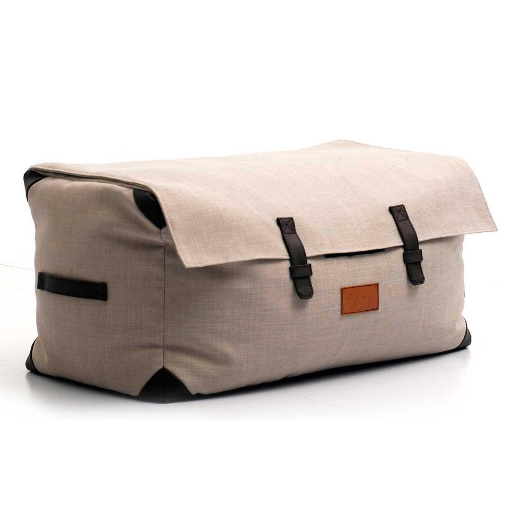 Lazy Bag ビーズクッションワイドスツール 310-BB カバーリング グレー
