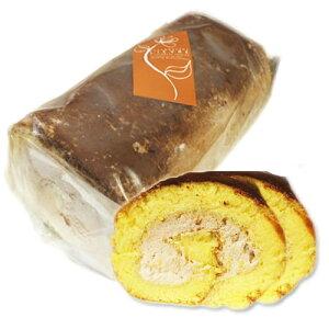 ロールケーキ 新潟 米粉「米っ娘ロール」生チョコ味【冷凍】油脂不使用 低カロリースイーツ