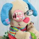 布製アイパッチ 〜AA09ピンク花〜弱視 遠視 弱視訓練用眼帯眼帯 斜視 乱視 視力訓練 遮蔽訓練 キッズ 子供 子ども こ…