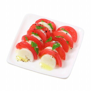 食品サンプル屋さんのマグネット(トマトとモッツァレラチーズ)食品サンプル ミニチュア 雑貨 食べ物 カプレーゼ 外国 土産 リアル