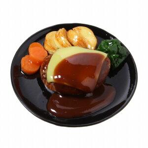 食品サンプル屋さんのマグネット(チーズハンバーグ)食品サンプル ミニチュア 雑貨 食べ物 ハンバーグ チーズ 外国 土産 リアル
