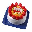 【メール便不可】食品サンプル屋さんのマグネット(バースデーケーキ:ホワイト)食品...