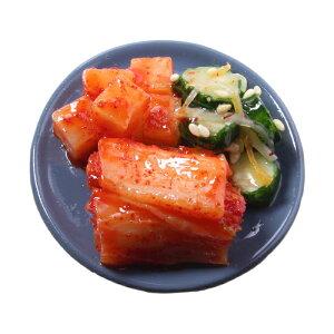 【メール便不可】食品サンプル屋さんのマグネット(キムチ盛り合わせ)食品サンプル ミニチュア 雑貨 食べ物 韓国 外国 土産 リアル