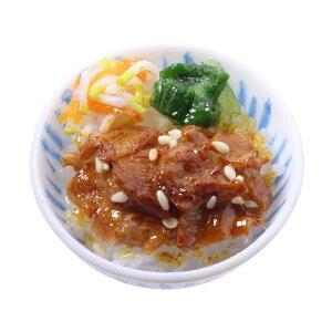 【メール便不可】食品サンプル屋さんのマグネット(カルビ丼)食品サンプル ミニチュア 雑貨 食べ物 韓国 外国 土産 リアル