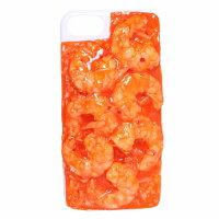 食品サンプル屋さんのスマホケース(iPhone7&iPhone8:エビチリ)[食品サンプル/4.7/カバー/雑貨/食べ物/スマートフォン/iPhone7/iPhone8/iphoneケース]