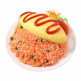 【メール便・ラッピング不可】食品サンプル屋さんのタブレットスタンド(オムライス)食品サンプル タブレッド iPhone Android ipad オムレツ 雑貨 食べ物 サラダ