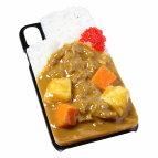 【メール便不可】食品サンプル屋さんのスマホケース(iPhoneXS、iPhoneXSMax、iPhoneXR:カレーライス)食品サンプルiPhoneケースカバー雑貨食べ物スマートフォン