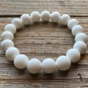 パワーストーン ホワイトオニキス 高品質 10mm 数珠 ブレスレット メンズ レディース ファッション 魔除け 厄除け お守り おしゃれ さざれ石 ブレス プレゼント