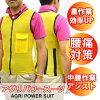 Agripower 套裝 [農業電力西裝/KITORA kitora] [性別中性 / 最好 / 背痛 / 腰背部疼痛緩解、 農業、 農業補貼 / upperbody 工作協助 / 腰支援 / 網 / 黑色 / 藍色 / 黃色 / 粉色 S M L LL 3 L]