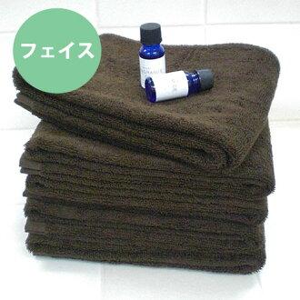 • Hotel hard use for ultra high durability bi-line volume face towel * dark brown * ◆ antibacterial deodorant Japan-02P24Jun11