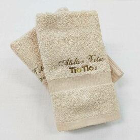 【抗ウイルス・制菌・消臭】TioTio(ティオティオ) フェイスタオル 触媒加工 抗菌 消臭 防臭 メール便可【高級タオル スーピマ綿 福袋 ギフト】抗菌防臭