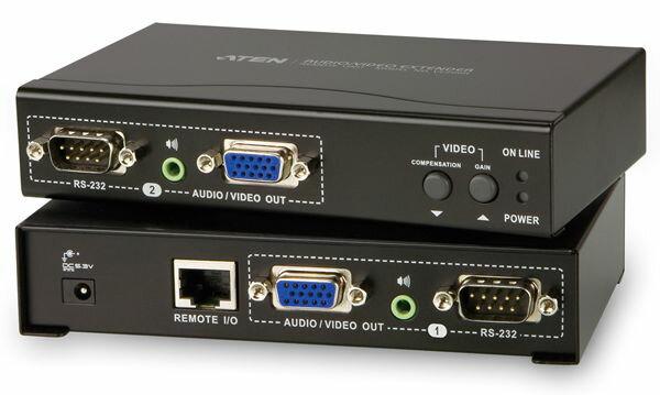 【送料無料】ATEN オーディオ/VGA エクステンダー 最大200m 【VE200】Local / Remoteセット