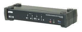 【送料無料】【3年保証】【CS1924M】 USB 3.0ハブ搭載 DCI 4K対応 4ポートUSB DisplayPort MST KVMPスイッチ