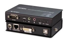 USB DVI HDBaseT ミニKVM エクステンダー (1920×1200@100 m)  CE611 【送料無料】【3年保証】