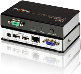 【送料無料】【3年保証】ATEN USB KVM エクステンダー 【CE700A】 Local/Remoteセット 最大150m延長可能