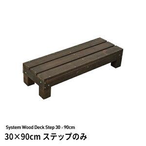 39対応 システムサンデッキ用ステップ(踏み台)30×90cm 高さ18.5cm 商品型番:sd-3090stp