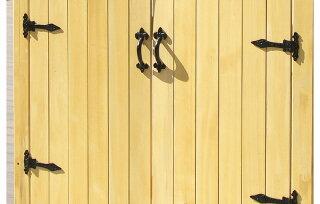 扉ガーデンドアイエローシダー片開きドアゲートガーデニング園芸庭庭園エクステリアおしゃれローズアーチパーゴラアーチ扉門扉フェンスmwg-door1side