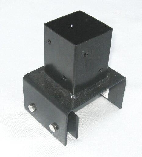 12cmブロック専用ポール設置金具 全高120cmまでの設置に使用可能 商品型番:bb-7212