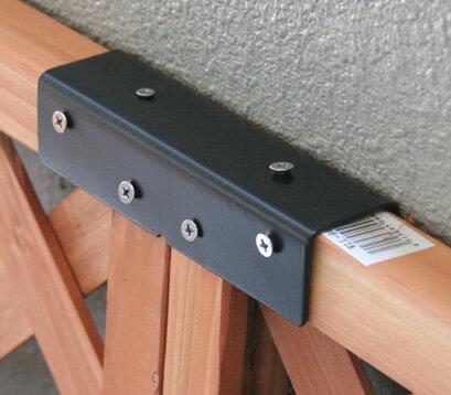 ストレート連結金具(1個)ラティス設置に、頼れるサポートツール商品型番:lv-st15