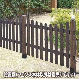 ボーダーフェンス ピケット U型 目かくし(目隠し)や境界にウッドフェンス・木製フェンス・ゲート(門扉)をDIY! 商品型番:jsbf-pu1200