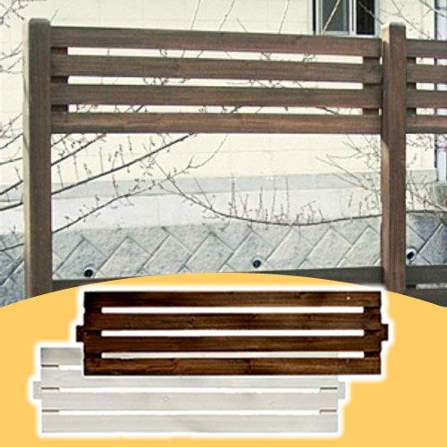 フェンス 木製 ボーダーフェンス アレンジ フェンス単品 1枚 幅127cm × 高さ34cm DIY ウッドフェンス ガーデンフェンス ガーデニング 目隠し 仕切り フェンスキット jsbf-340