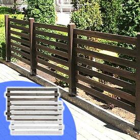 フェンス 木製 目隠し ボーダーフェンス アウトルック フェンス単品1枚 DIY ウッドフェンス ガーデンフェンス ガーデニング 仕切り フェンスキット jsbf-766