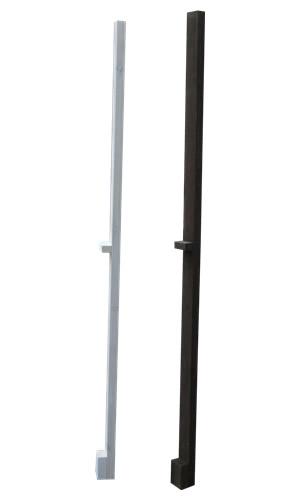 天然木製 ボーダーフェンス(ベランダdeウォール)用シンプルポール ハイタイプCider House EXTERIOR商品型番:jsbp-1897
