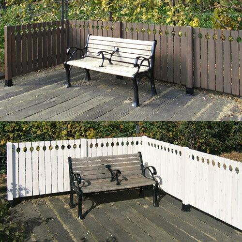 天然木製 ブラインドフェンス Cider House EXTERIOR目かくし(目隠し)や境界にウッドフェンス・木製フェンス・ゲート(門扉)をDIY!商品型番:pqb-126
