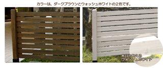 木製フェンスボーダーフェンススタンダード幅127cmフェンス単品1枚DIY目隠しウッドフェンスjsbf-790