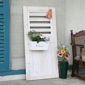 ドア シェッドファサードヴォレー 高さ115cm 幅55cm 飾り戸 フェンス 木製 ボーダーフェンス ゲート 門扉 パーテーション アーチ バルコニーアーチ sfv-550