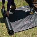 【早い者勝ちクーポン進呈中!】 国産品です!人工芝設置に最適の防草シート【たっぷり25mロール(1m幅)】