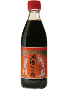 マルシマ 丸島醤油 減塩醤油 塩分9% 360ml×10本セット
