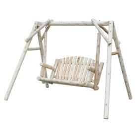【送料無料】【Cedar Looks アメリカンスウィング NO26】 木製ブランコ ウッドチェア ガーデンブランコ ガーデニングブランコ ウッドベンチ 木製ベンチ