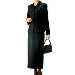 【在庫有】ブラックフォーマル レディース 【送料無料】 ジャケット ブラウス スカート 【ブラックフォーマル3点セット】 かわいい シンプル 上品 おしゃれ 女性用 喪服 礼服