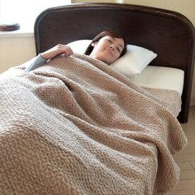 キャメルのびふわ毛布 シングルサイズ ★送料無料★ 【キャメル混のびふわ毛布 シングル 0433】 軽い毛布 なめらか毛布 あったか毛布 ガーゼケット