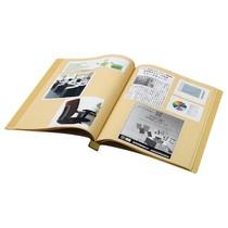 スクラップブックA4タテクラフト台紙28枚付No.550