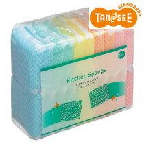 TANOSEE ミニキッチンスポンジ ネット 100個入(20個×5パック)
