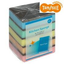 TANOSEE キッチンスポンジ ハード 50個入(10個×5パック)