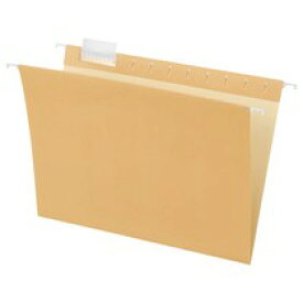 TANOSEE ハンギングフォルダー A4 クリーム 5冊入×10パック
