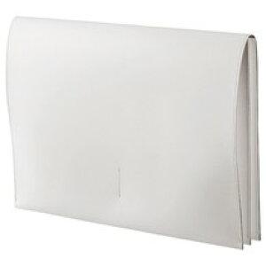 リサイクルレザー スリムレザーケース A4 ホワイト  PRORSCA4WH   613-6338